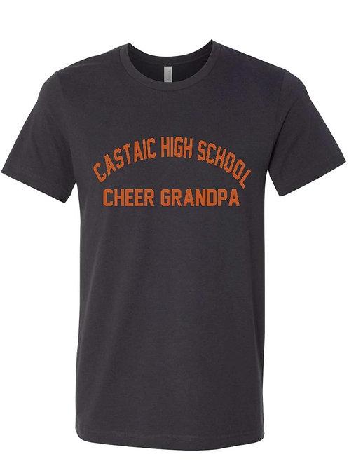 Castaic Cheer Grandpa Charcoal T-Shirt