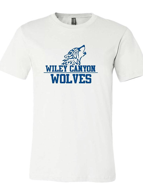 Wiley White Wolf Logo T-Shirt