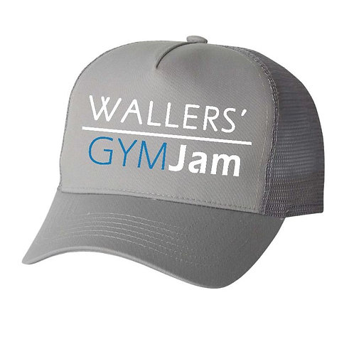 Wallers' Gray GYMJAM Hat