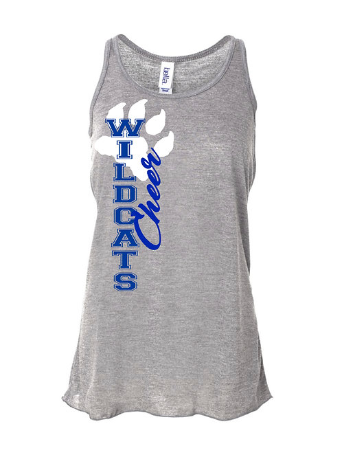 Wildcats Flowy Cheer Tank
