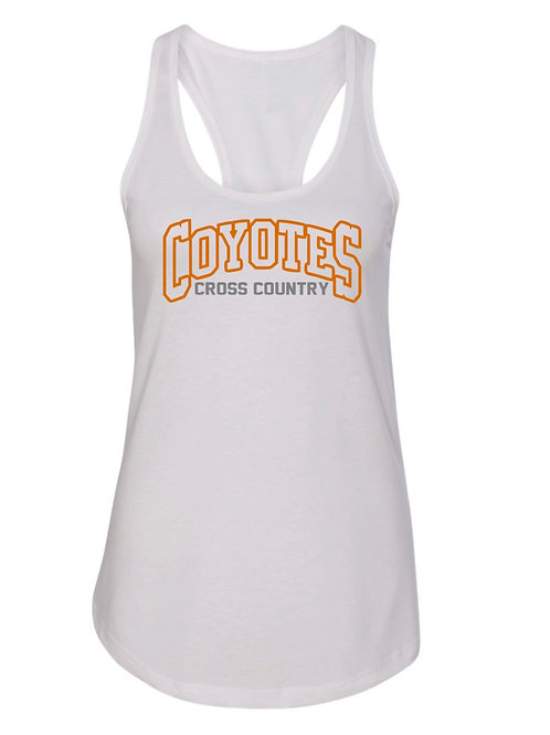 Coyotes Cross Country Tank