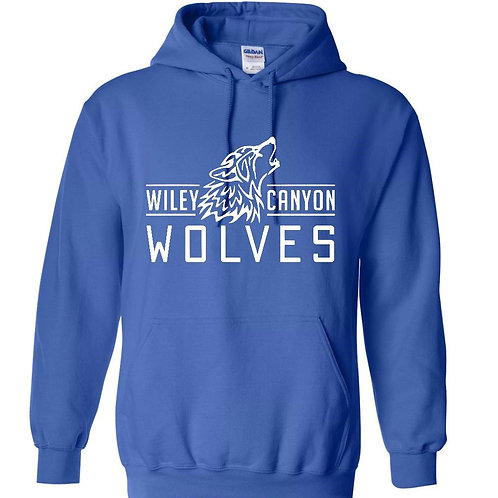 Wiley Canyon Wolves with Wolf Logo