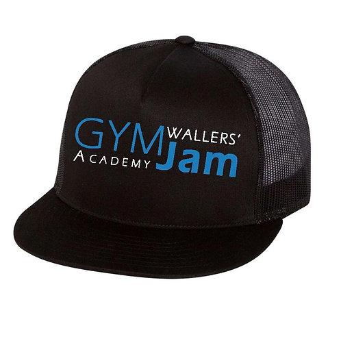 Wallers' Flat Bill Academy Snapback Hat