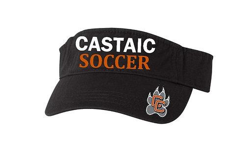 Castaic Soccer Visor