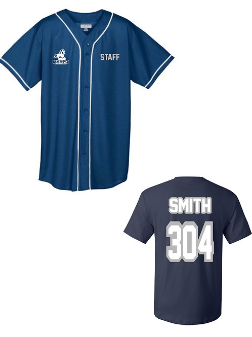 Personalized Rancho Pico Staff Jersey in Navy Blue