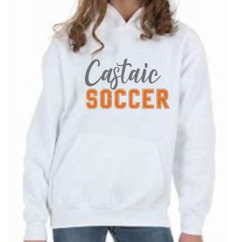Castaic Soccer Sweatshirt with Glitter