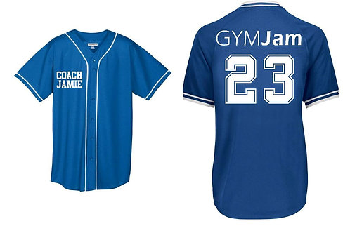 Personalized  Wallers' GYMJAM Coach Jersey