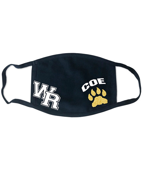West Ranch Personalized Face Mask