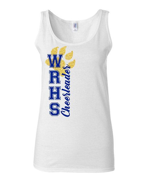 WRHS Cheerleader Tank