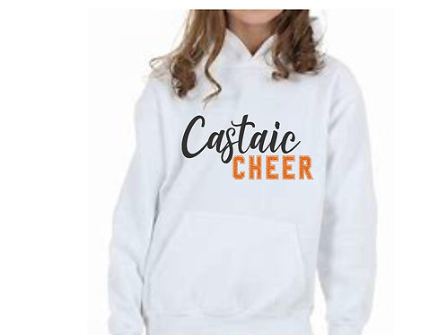 Castaic Cheer Hoodie with Glitter