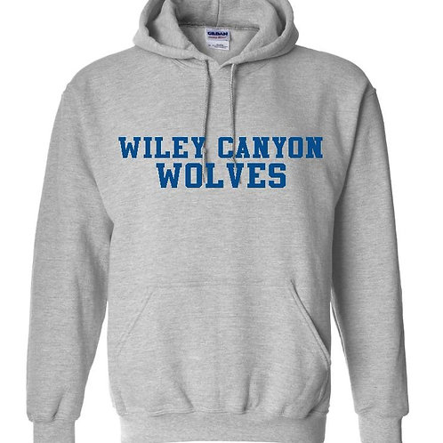 Wiley Canyon Wolves Hoodie