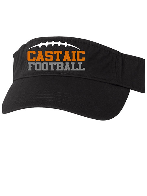 Castaic Football Visor