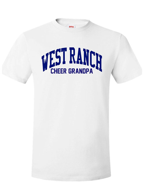 West Ranch Cheer Grandpa Tee