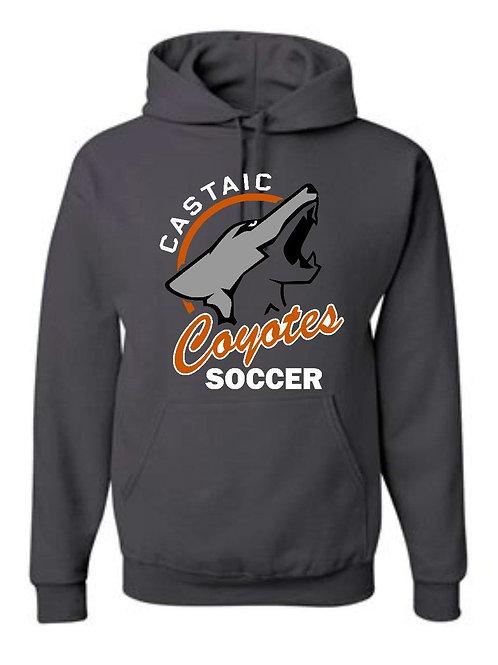 Castaic Coyote Soccer Sweatshirt with Logo