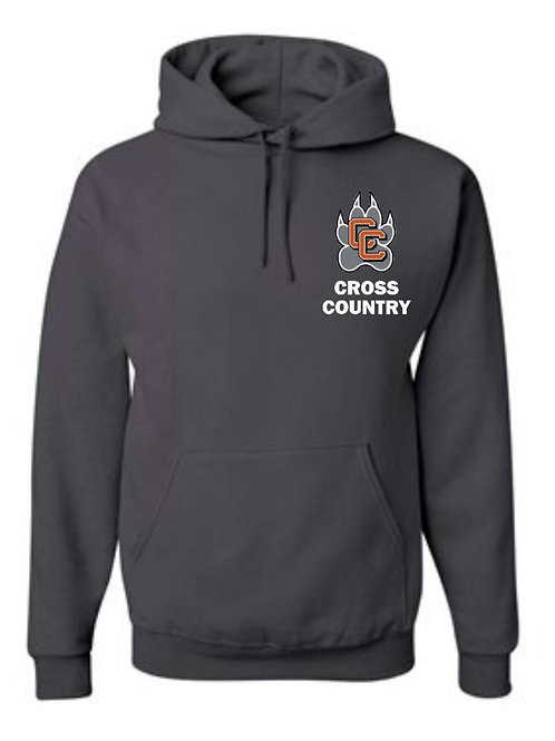 Castaic Cross Country Hoodie with paw