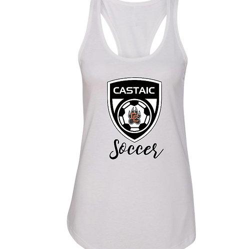 Castaic Soccer Crest Tank