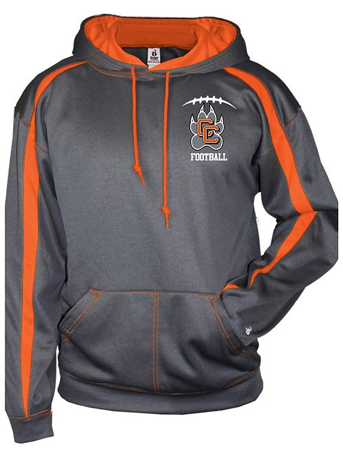 Castaic Football Performance Fleece Hooded Pullover
