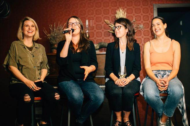 Amy Wood, Amalia Fowler, Lisa Pierson & Natasha Wahid