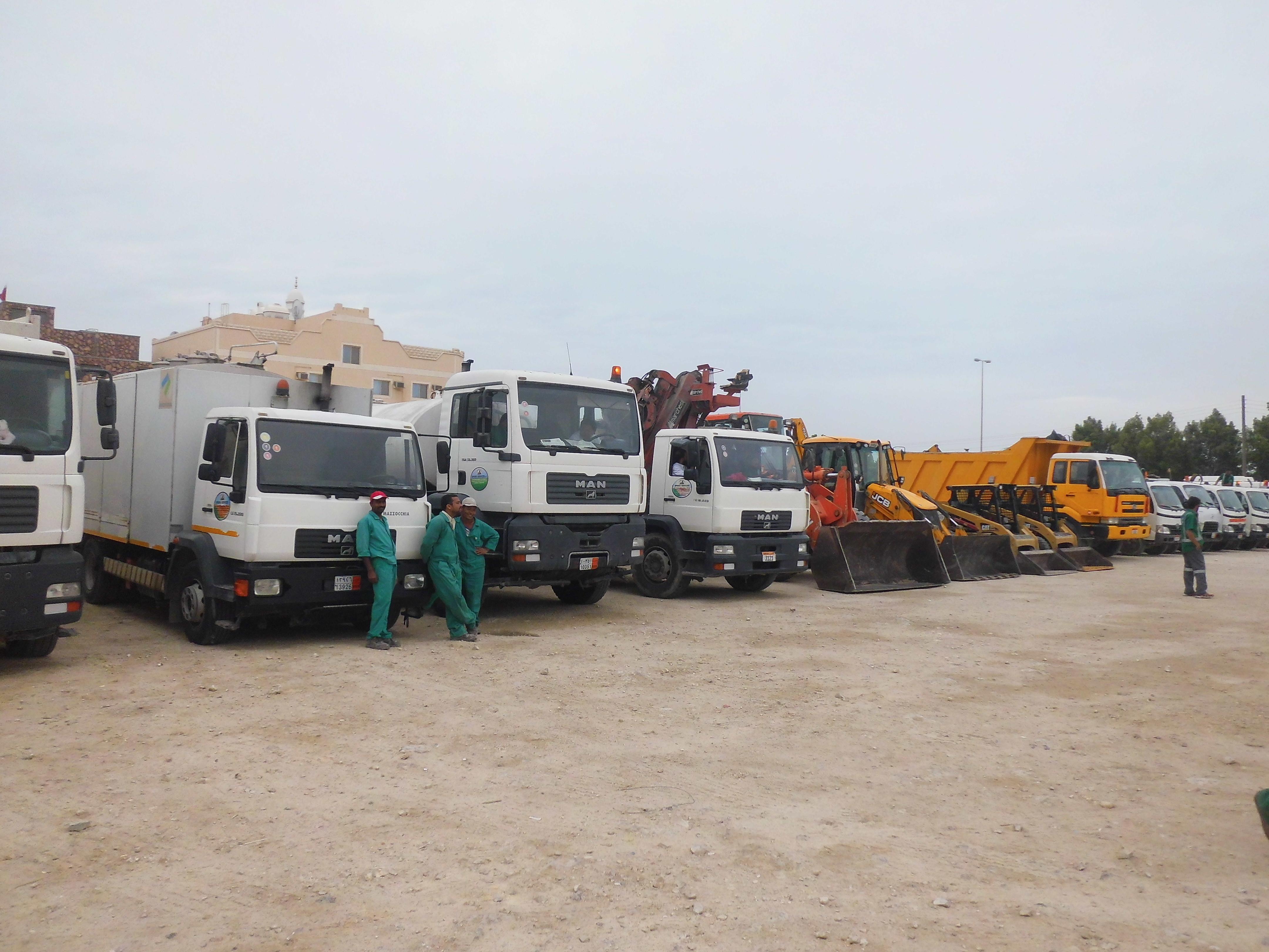 Sphinx Service Vehicles