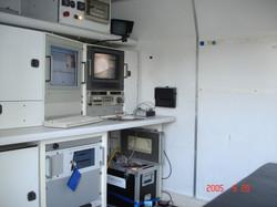CCTV Van Inside view