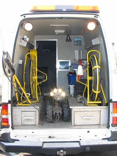 Sphinx CCTV Van