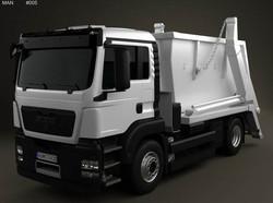 MAN TGS Skip Loader Truck