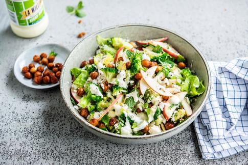Zomerse salade met Plantaise