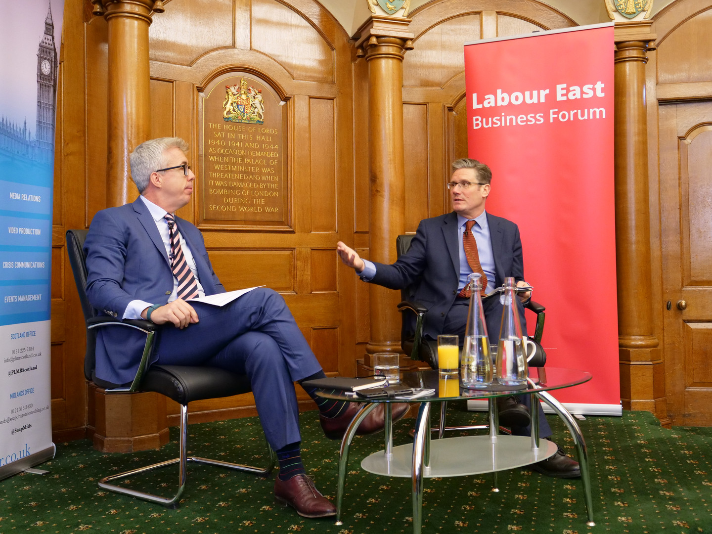 Kevin Craig and Sir Keir Starmer