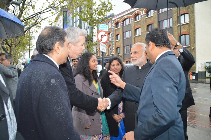 Kevin Craig and Narendra Modi