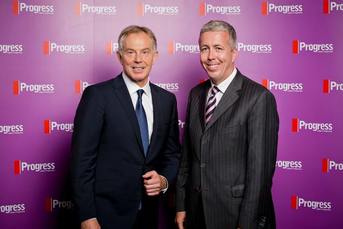 Kevin Craig and Tony Blair