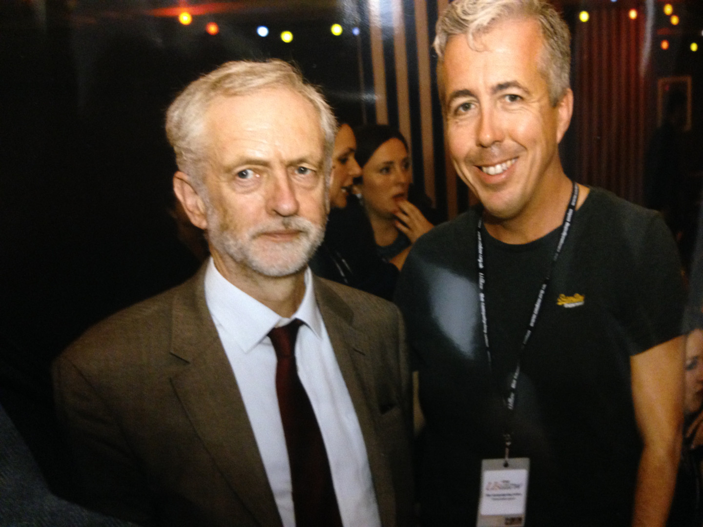 Kevin Craig and Jeremy Corbyn