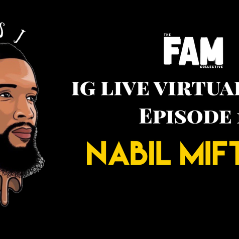 IG LIVE VIRTUAL TOUR Ep. 1: Nabil Miftahi (Jersey City)