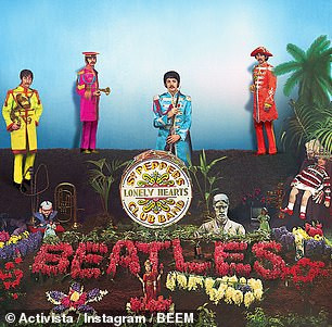 Beatles' Socially Distanced Sgt. Peppers.