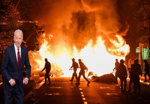 Trump: Biden Leads Rioters Into Suburbs to Scare White Women