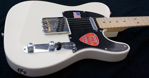 Fender American special telecaster olympic white
