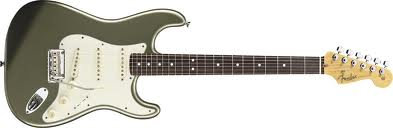Fender stratocaster standards jade pearl metallic