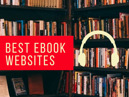 Free & Almost Free Ebook Websites