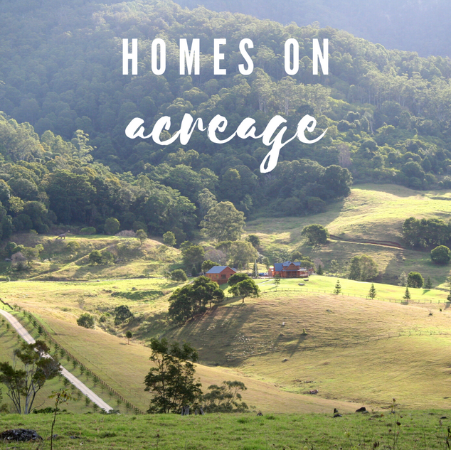 Homes on Acreage