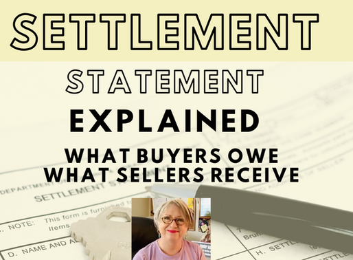 The Settlement Statement