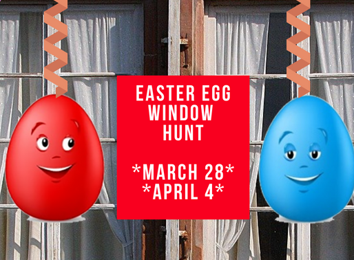 Easter Egg Window Hunt