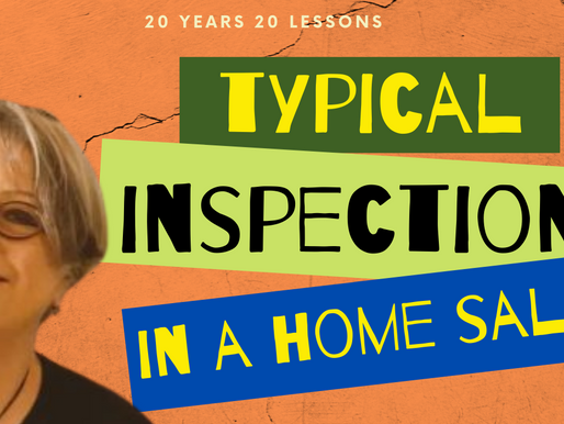 The Inspections That Happen In A Home Sale