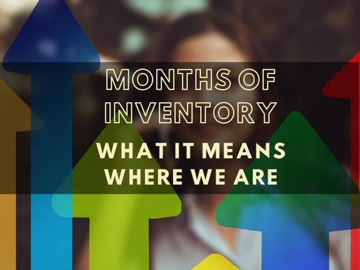 How months of inventory define a market - and where we are in The Eastern Panhandle