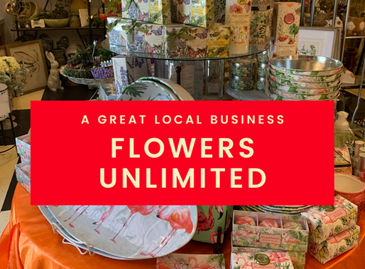 Flowers Unlimited - A Downtown Shop Full of Beautiful Things