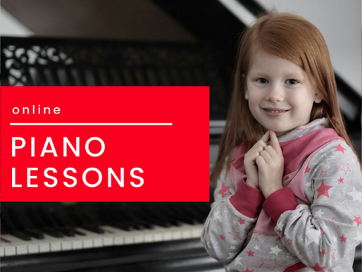Piano Lessons Online.