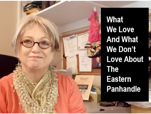 Living in the Panhandle - 3 Things We Love...2 Things We Don't