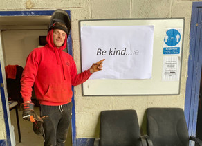 'Be kind' is our message to support World Mental Health Day
