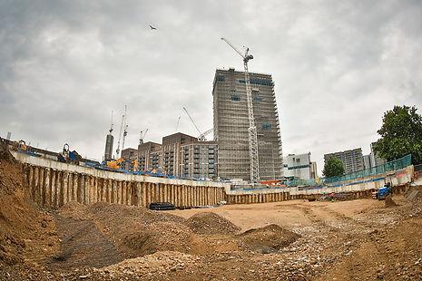 Regeneration work Wembley