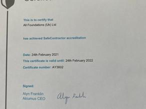 Best practice again earns SafeContractor accreditation