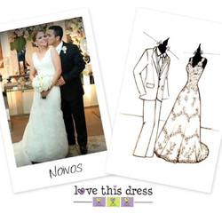 #repost deste Sketch dos noivos para eles lembrarem sempre deste dia maravilhoso!___________________