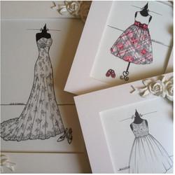 Olha que linda a coleção de sketches da _julianatrevisan ❤️❤️_Sketch de noiva, do batizado da filha